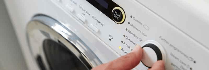 เปิดเครื่องซักผ้า